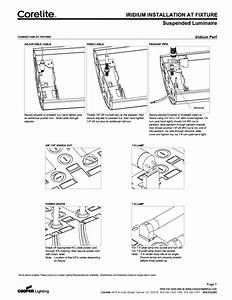 Suspended Luminaire Manuals
