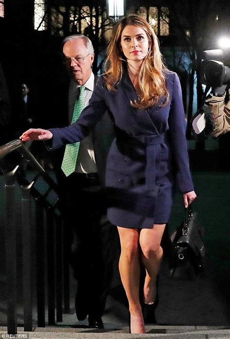 Hope Hicks Toes White House's