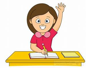 Raise Your Hand Clipart - The Cliparts