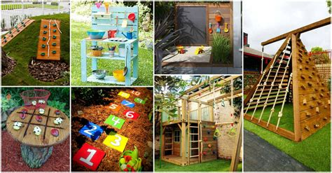 fun garden kids playground areas   steal  show