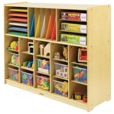 preschool storage furniture carolina multi section storage 759