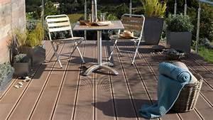 Lame Composite Pour Terrasse Leroy Merlin : dalle plastique terrasse stunning accessoires with dalle ~ Zukunftsfamilie.com Idées de Décoration