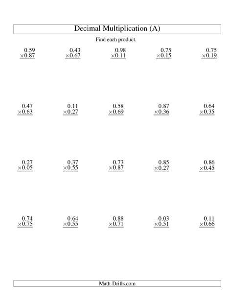 best 25 decimal multiplication ideas on
