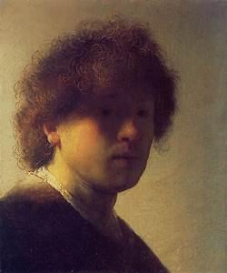 Rembrandt- Self Portrait as a Young Man