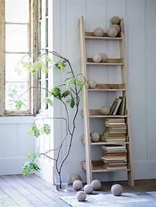 Echelle Decorative Casa : escaleras y estanter as como organizadores ~ Teatrodelosmanantiales.com Idées de Décoration
