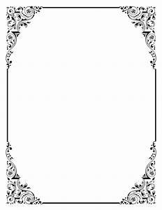 Frame elegant wedding border clipart clipart kid ...