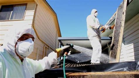 home built   apply   loose fill asbestos