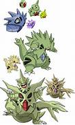 246  247 and 248 - Larvitar Evolutionary Line by Tails19950 on      Larvitar Evolution Chart