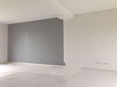 peinture murale gris argent