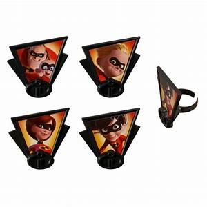 Incredibles 2 - Dynamic Family Cupcake Rings DecoPac