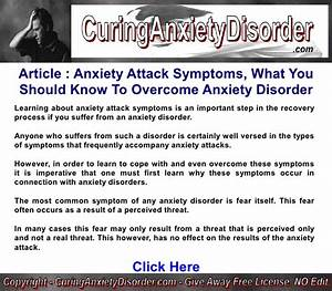 Anxiety Attack Symptoms, What You Should Know To Overcome ...