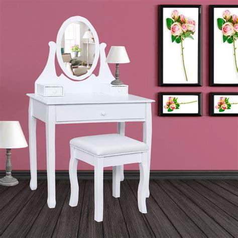 fabulous coiffeuse table de maquillage en bois avec miroir et tabouret with coiffeuse avec
