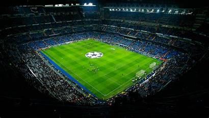 Stadium Bernabeu Santiago Uefa League Champions Madrid