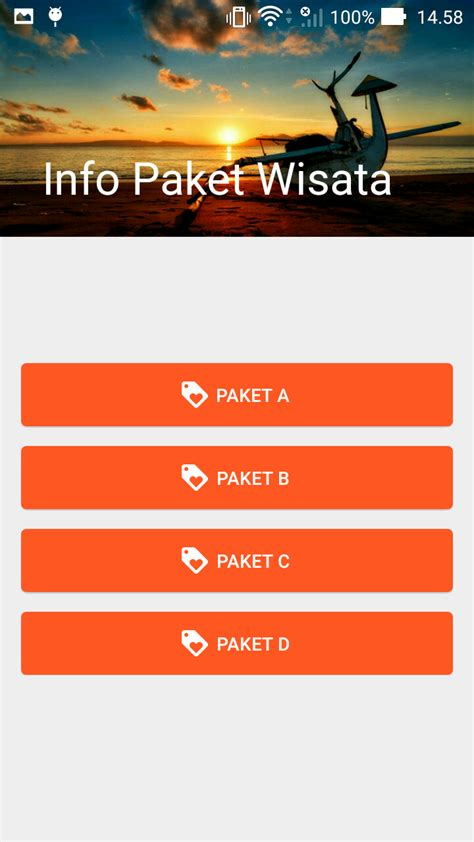 paket tya i aplikasi e wisata majistic banyuwangi dengan sistem