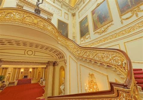 Buckingham Palace Interior Staircase