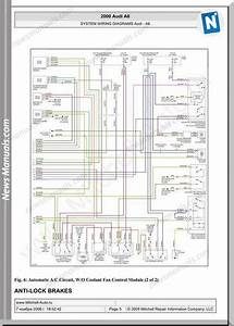 Audi A6 2000 System Wiring Diagrams