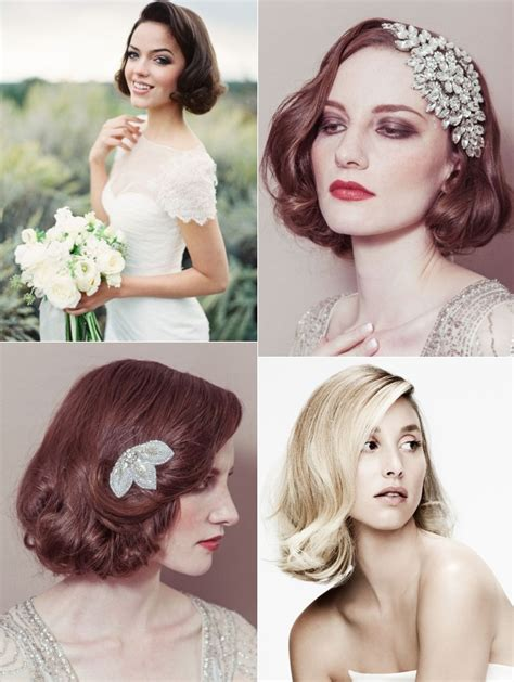 short wedding hairstyles  brides  short hair