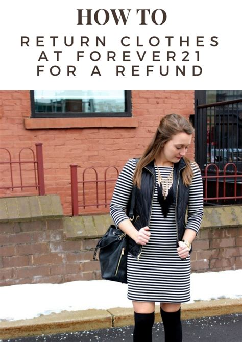 How to return clothes at Forever 21 for a REFUND! (not just store credit) - cassidy lou