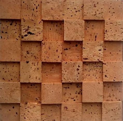 cork oak wall covering size    mm rs  square