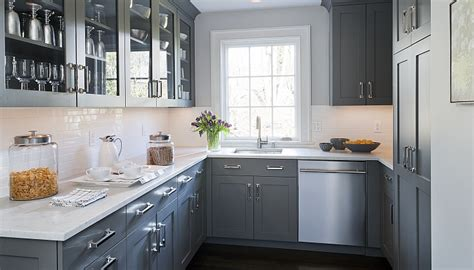 66 Gray Kitchen Design Ideas  Decoholic. Living Room Corner Shelf. Best Living Room Color. Ideas For Decorating Living Room. Ceiling Lights Living Room Ideas