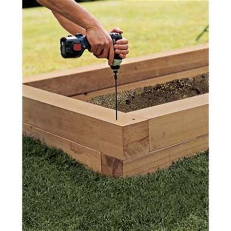 Excellent Step By Step Diy For How To Build Raised Planter