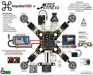 Impulserc Impulseosd Wolf Pdb   Flyduino Kiss Fc V2 Anschlussplan    Wiringplan