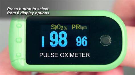 7088 Finger Pulse Oximeter Demonstration - YouTube