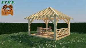 Construire Pergola Bois : construire une pergola en bois construire sa veranda en bois reims u helena manson inoui ~ Preciouscoupons.com Idées de Décoration