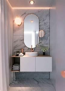 1001 idees pour un miroir salle de bain lumineux les With salle de bain design avec boules lumineuses décoratives