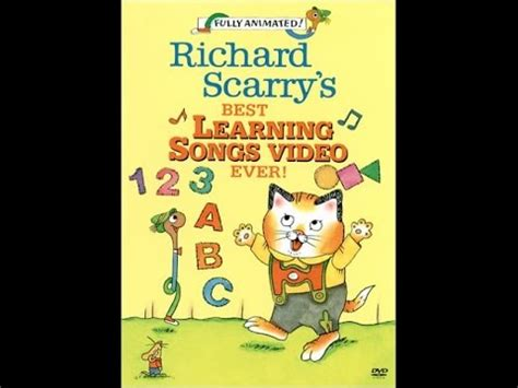 Richard Scarry's Best Learning Songs Video Ever!  Youtube