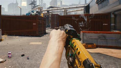 cyberpunk 2077 weapons shown far smart projekt cd rifle