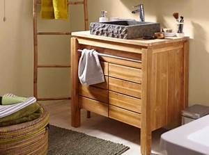 comment choisir son meuble de salle de bains leroy merlin With porte d entrée pvc avec meuble vasque salle de bain 60 cm largeur