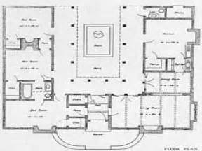 us homes floor plans u shaped one story house u shaped house plan with courtyard mission style house plans