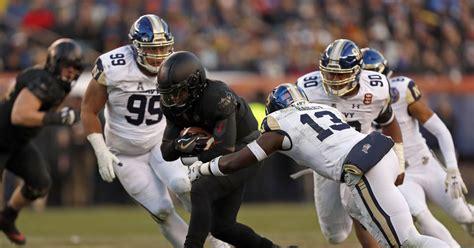 army navy results black knights run win streak   years