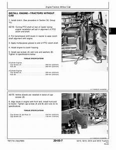 John Deere 5510 Tractor Service Repair Manual