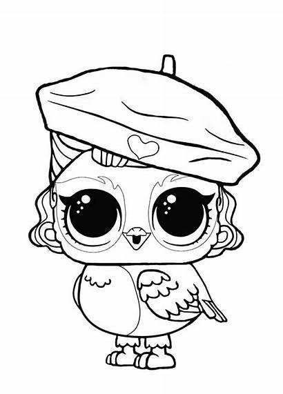 Lol Doll Owl Coloring раскраски все из