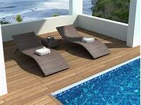 swimming pool furniture Pool Lounge Chairs for Outdoor Recreational Areas - Traba ...