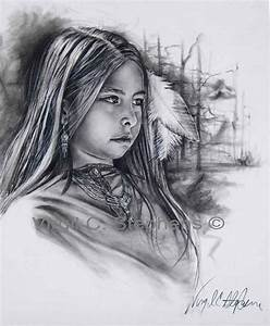 Native American Art Drawings | Native American little ...