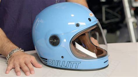 bell bullitt retro blue helmet review  revzillacom