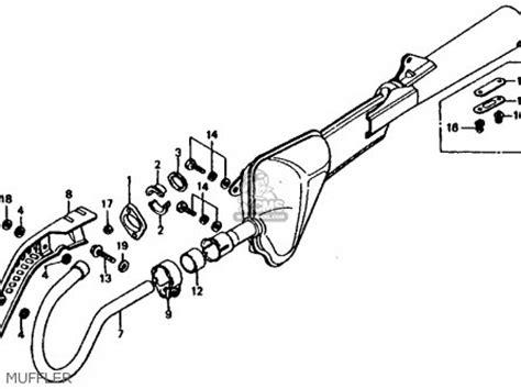 honda xl185s 1981 b usa parts list partsmanual partsfiche