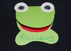 Einladungen Kindergeburtstag Selbst Gestalten : einladung frosch kinderspiele ~ Markanthonyermac.com Haus und Dekorationen