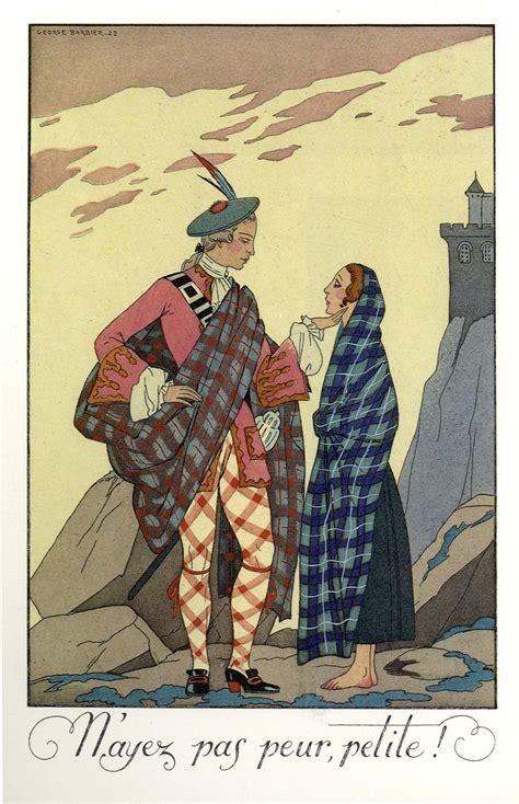 george barbier almanac illustrations