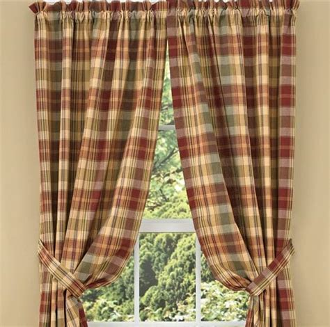 Country Drapes and Panel Curtains   Saffron Drapery Panels