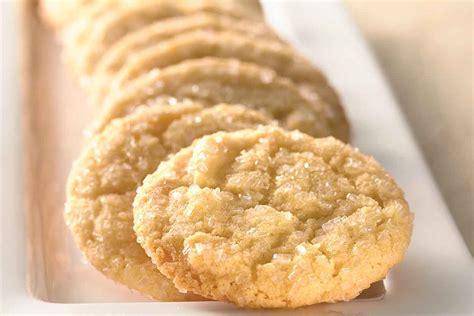 sugar cookies self rising crunchy sugar cookies recipe king arthur flour