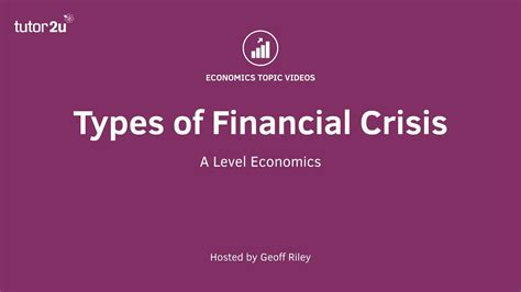 Types Of Financial Crisis