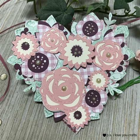 Hand drawn heart shaped heart outline. Heart Shaped Cricut Love Card - P.S. I Love You Crafts