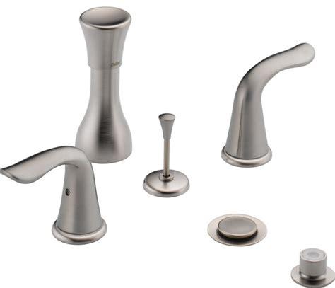 delta faucet co indianapolis delta lahara 174 bidet faucet less handles craftsman