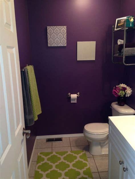purple  green bathroom sw plummy  purple