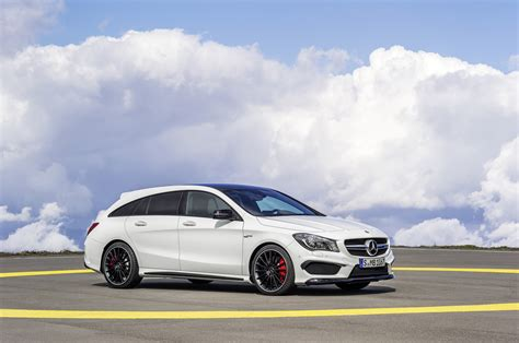 Now that crossovers are all the rage in america, we don't get hot wagons like this cla 45 s. Mercedes-AMG CLA 45 Shooting Brake (X117) specs & photos - 2015, 2016, 2017, 2018, 2019, 2020 ...