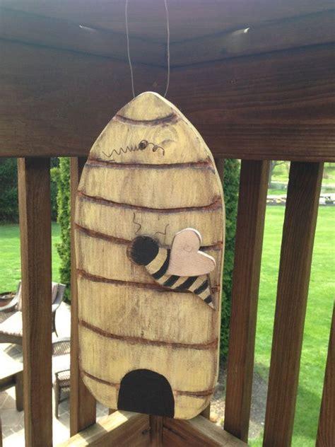 primitive beehive wooden beehive handmade